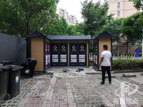 可移动分类垃圾房材料优点