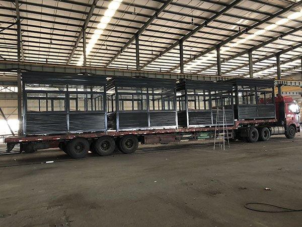 福州工厂:岗亭装车发货