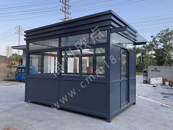 福州岗亭厂家:钢结构的优点