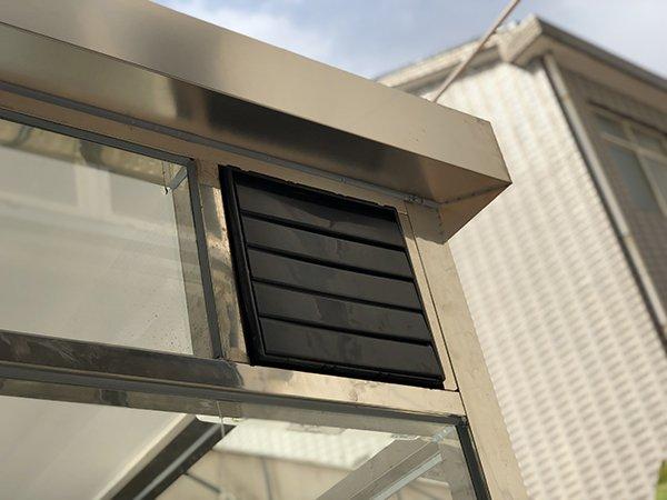 嘉善宝拓机械吸烟亭2.5x2.5 户外环保吸烟房定制/选品项目