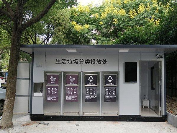 上海泗泾新凯家园小区垃圾房安装 定制 配送