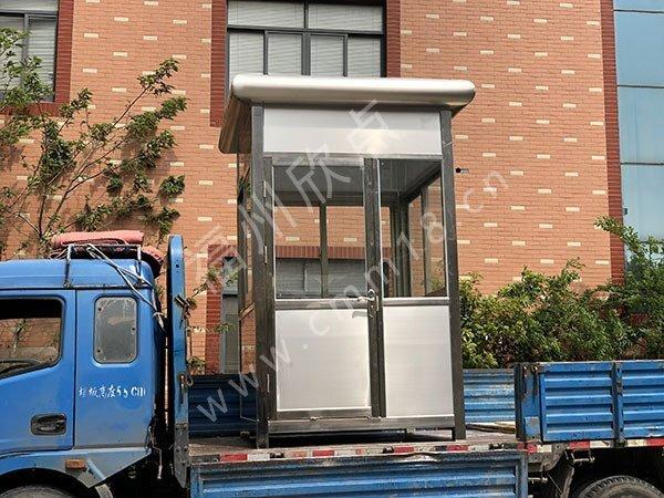 福州不锈钢岗亭厂家:不锈钢岗亭定制工艺四大优势