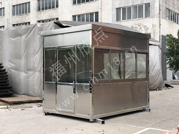 不锈钢岗亭焊接操作常见问题