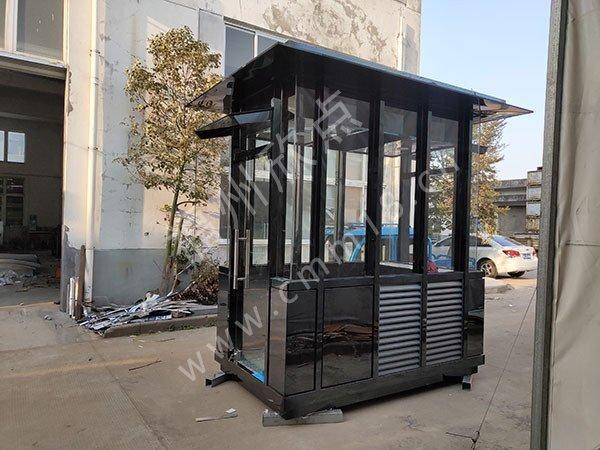 福州不锈钢岗亭生产厂家 小区保安岗亭的常规安装步骤