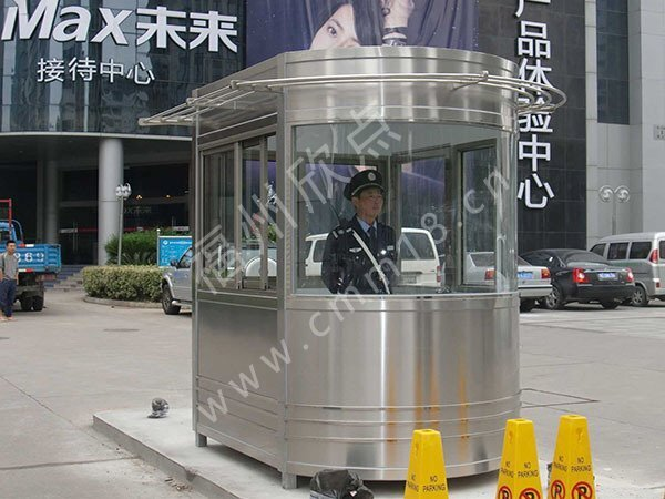 福州小区保安岗亭厂家:不锈保安岗亭的质量好坏取决于焊接技术