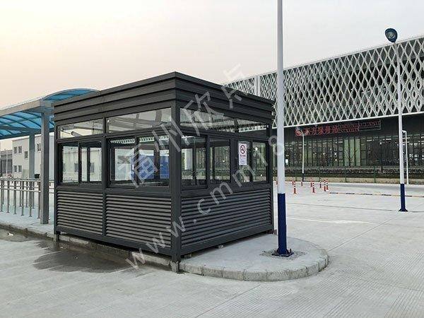 福州岗亭厂家:影响小区保安岗亭的尺寸大小的五大因素