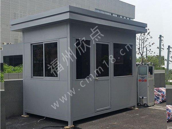 福州岗亭厂家:不锈钢岗亭定制设计方案