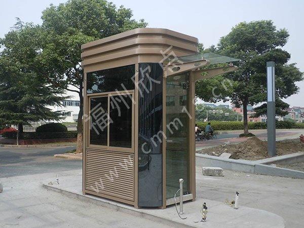 福州钢结构保安岗亭厂家(120)