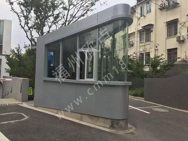 福州岗亭工厂:市面上流行的三种岗亭原材料区别及介绍