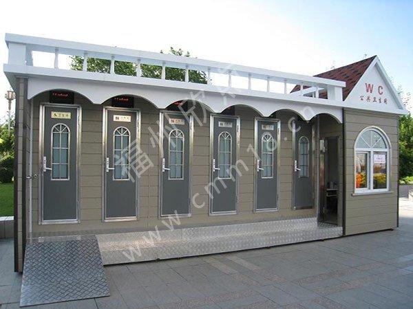 福州移动厕所厂家:街道公共卫生间可为大家解决的问题