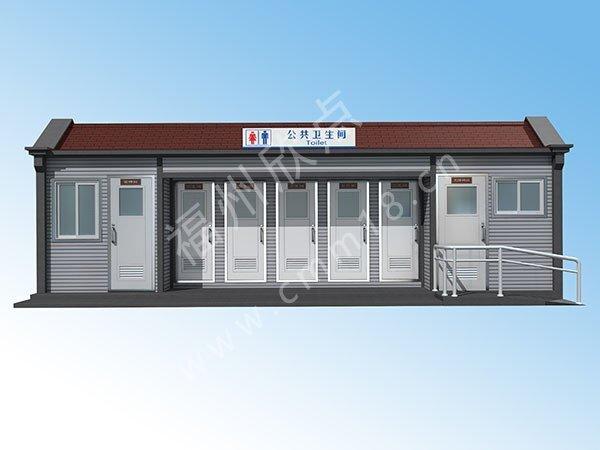 福州环卫厕所效设计果图厂家(12)