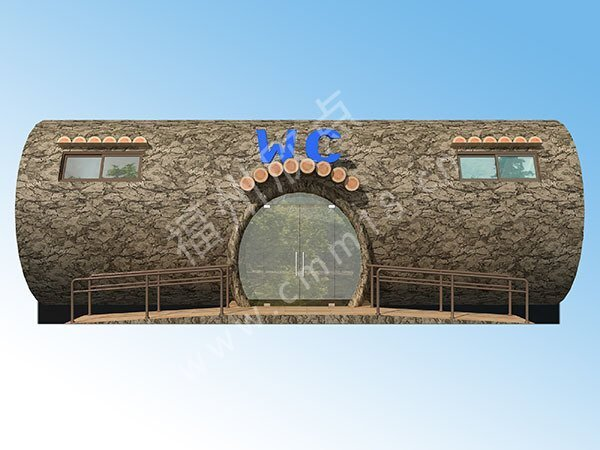 福州环卫厕所效设计果图厂家(25)