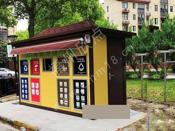 福州小区垃圾分类房定制要求及优势