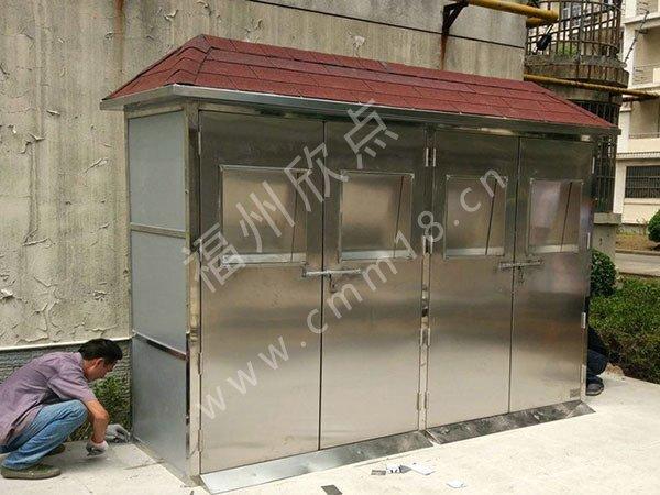 福州垃圾房厂家:工地生活垃圾房设计标准规范 垃圾分类屋定制厂家