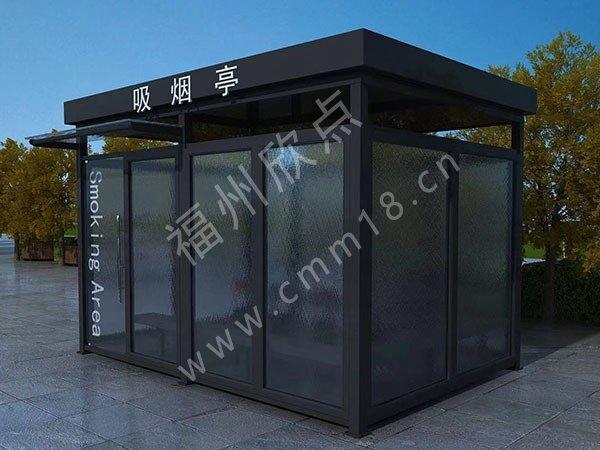 除了车站要用吸烟亭外,室内抽烟房还适用于这些场所