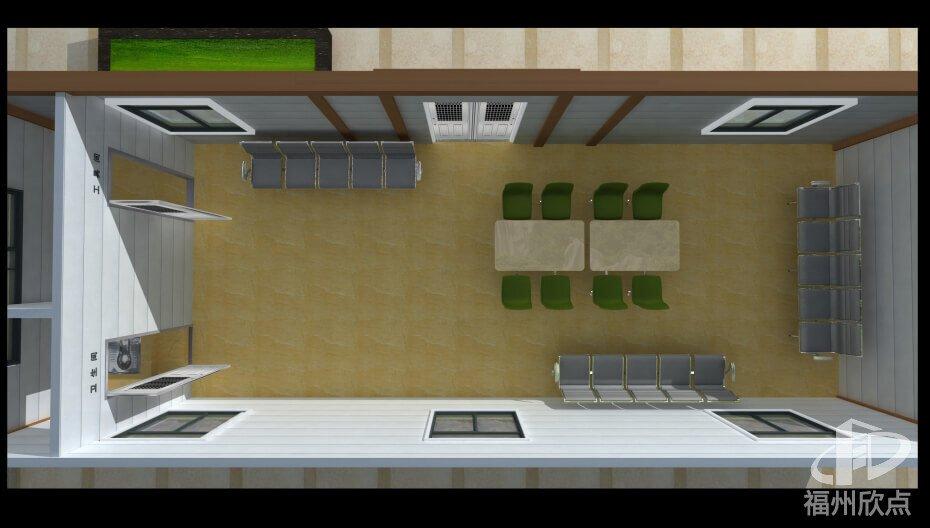 环卫道班驿站内部设计设施图
