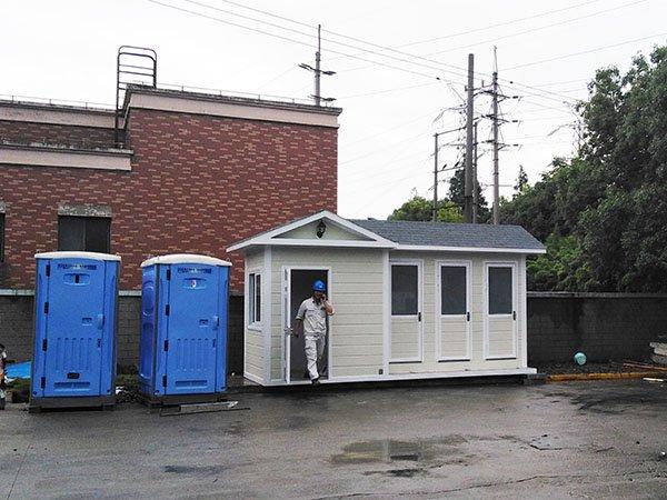 带管理环保城市街道生态环保厕所