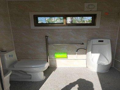 景区公园成品连体公共卫生间洗手间