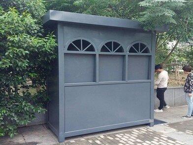 不锈钢小区街道分类清洁垃圾房