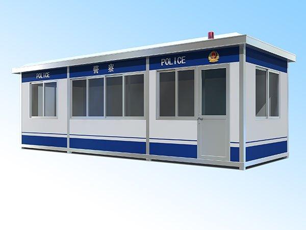 福州雕花板/钢结构/镀锌板警用岗亭 成品定制综合执法岗亭