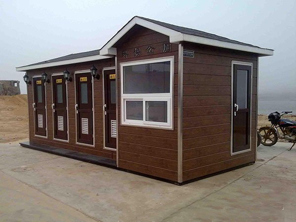 四蹲位多间可扩展定制式公园景区车站环保厕所