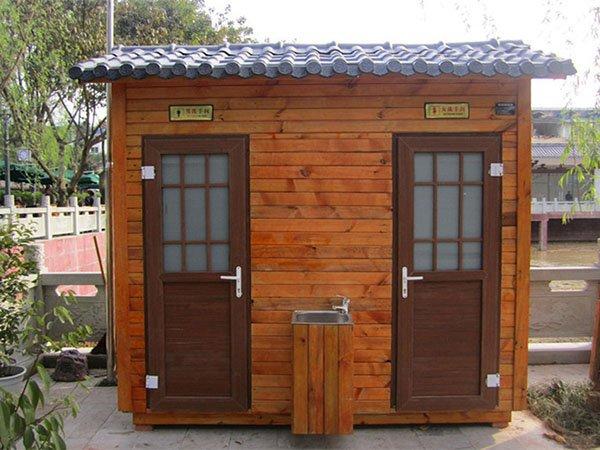 二蹲位移动厕所厂家定制 福州环保户外卫生间