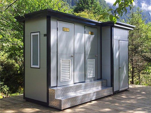 公园广场社区街道环保自动冲水式公共洗手间 移动厕所厂家